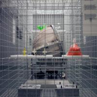Caged Installation