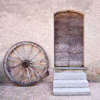 Wheel and Door