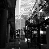 Rear Side of Canary Wharf