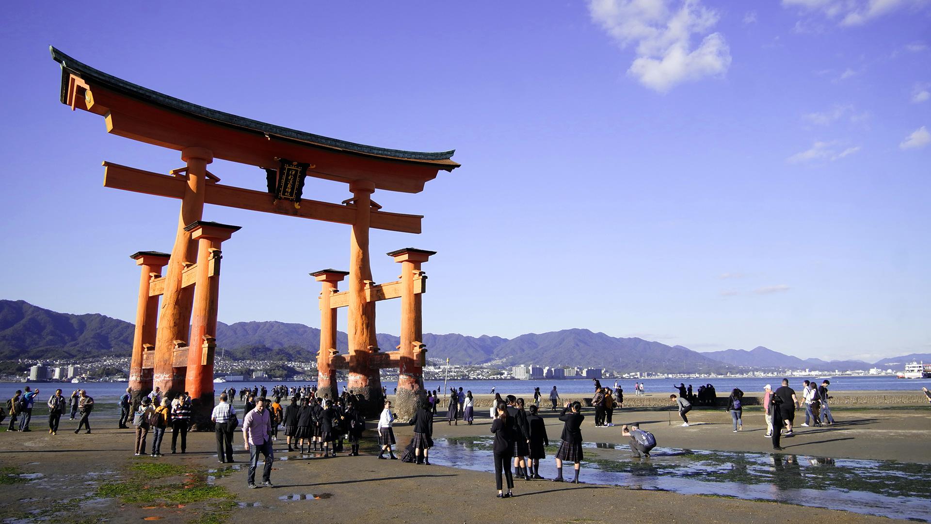 Otorii Gate on Miyajima