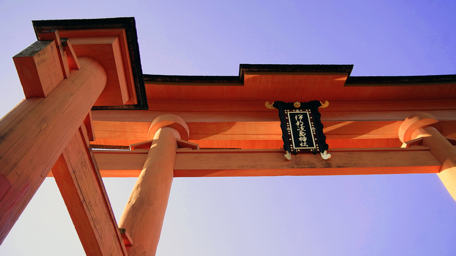 Detail of the Otorii
